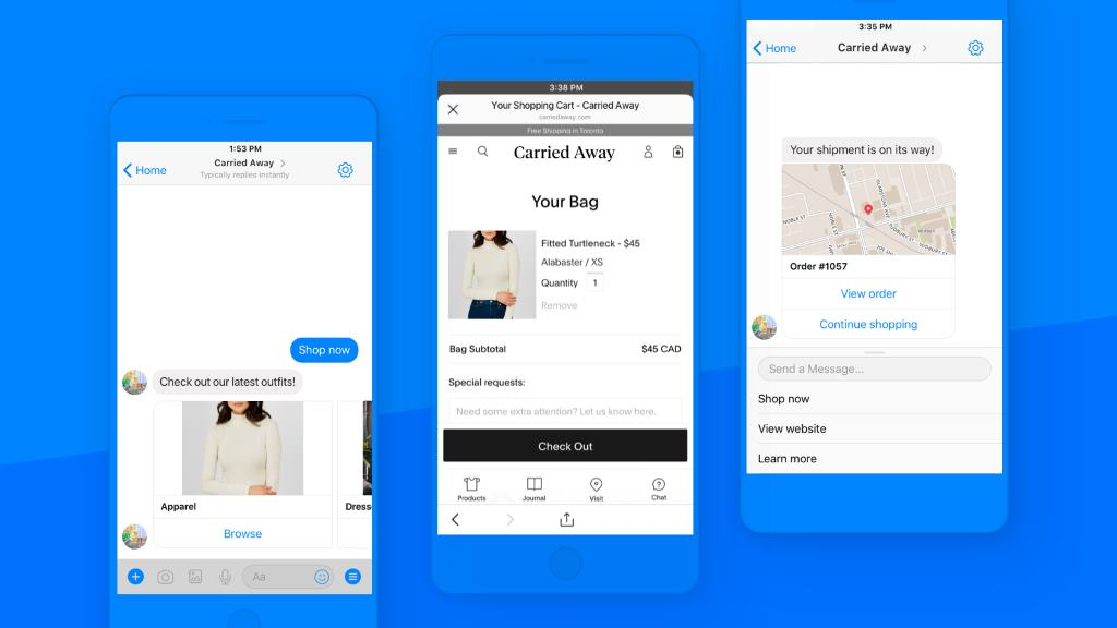 Messenger app example