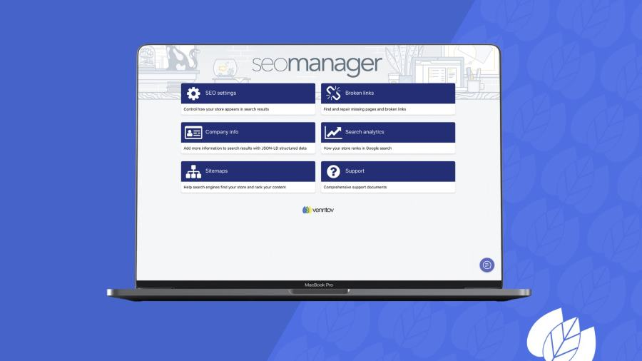 SEO Manager app